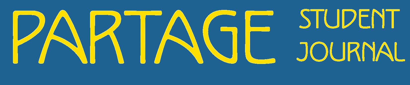 Partage Student Journal Logo